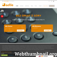 Technologia VoIP zmniejszy Twoje wydatki na telefon. Sprawdź co proponuje actio, jeden z liderów VoIP w Polsce. Już 6 lat actio współpracuje z firmą 3CX dostarczając nowoczesną centralę PBX. Jeśli jesteś zainteresowany ofertą actio, pomożemy przenieść Twój numer telefonu załatwiając wszystkie formalności. Nie czekaj i już dziś rozpocznij oszczędzanie redukując swoje rachunki za telefon!