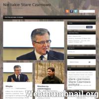 Nie Takie Stare Czarnowo - to portal informujący o bieżących wydarzeniach w gminie Stare Czarnowo. Jesteśmy tam gdzie inni nie docierają