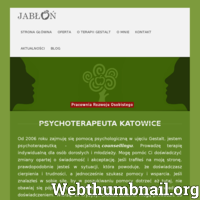 Jeśli trafiłeś na tę stronę, to prawdopodobnie potrzebny Ci psycholog. Katowice to miasto, w którym znajduje się mój gabinet ./_thumb/jablon-gestalt.pl.png