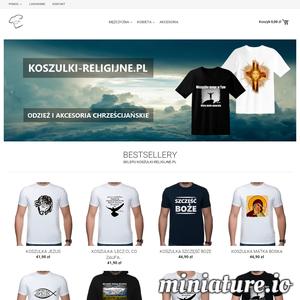 Witamy w sklepie internetowym koszulki-religijne.pl. Znajdziesz u nas koszulki religijne, bluzy religijne i akcesoria o charakterze chrześcijańskim.