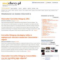 Ludzie mają różne upodobania, dla jednych najlepszą marką są auta produkowane przez azjatów, dla innych natomiast samochody niemieckich konstruktorów nie mają sobie równych. Natomiast dla wszystkich tych osób, które pasjonują się marką Chevrolet, wartą polecenia stroną internetową będzie mojchevy.pl, czyli portal miłośników nadmienionej marki. ./_thumb/mojchevy.pl.png