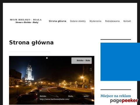 mojebielsko-biala.pl - Strona główna. Bielsko - Biała zabytki, wydarzenia, ciekawe informacje, co warto zobaczyć