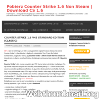 Pobierz najlepszą wersję CS 1.6 za darmo. Najlepszy Counter Strike 1.6 free – Download  wszystkich wersji cs v23, v32, v43, v48, v52 i inne bez limitu. ./_thumb/pobierzcs.xaa.pl.png