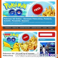 Najlepsza strona o grze Pokemon GO - Znajdziecie tu wiele sposobów na darmowe Pokecoinsy, postacie oraz wiele innych dodatków niezbędnych do gry.