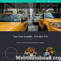Zapraszam do skorzystania z usług - Radio Taxi Suwałki Taxi Suwałki Numer Taxi Transfer na Lotnisko Warszawa, Kowno, Wilno Numer taksówki ./_thumb/taxisuwalki.pl.png
