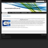 Oferuję strony na darmowych szablonach WordPress. ./_thumb/tworzeniestron24.com.pl.png