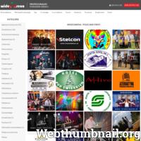 """Portal """"Wideo arena"""" powstał w Toruniu, jako rozwinięcie istniejącego już od kilku lat portalu """"Wkoło nas"""". Zamysłem naszym było stworzyć witrynę, która pomoże Państwu w rozwiązywaniu codziennych problemów. Dlatego dołącz do nas. Załóż konto i wstaw swoje filmy do odpowiedniej kategorii na stronie głównej. Jak dzieje się coś nowego w Twojej firmie, zrób zdjęcia i wstaw do zakładki """"Co nowego"""". Poza tym wykorzystaj pozostałe podstrony, a na pewno spowodujesz tym zwiększenie zainteresowania swoja działalnością. ./_thumb/wideoarena.com.png"""