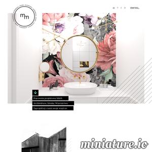 Zapraszamy na stronę biura projektowego M&M, które działa na terenie Tarnowa i Krakowa. Zajdziesz tu nasze projekty wnętrz, architektury, wzornictwa. Nasz zespół to architekt Magdalena Stano absolwentka politechniki krakowskiej i ASP w Krakowie oraz Maciej Zabawa absolwent ASP w Krakowie.