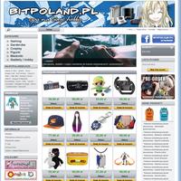 Bitpoland to sklep internetowy od fanów dla fanów, oferujący szeroką gamę produktów rozrywki elektronicznej oraz kulturowej.  Graczy zainteresują akcesoria, dodatki oraz części zamienne do konsol, natomiast pasjonaci mangi i anime znajdą wiele gadżetów z ich ulubionych tytułów. Sprowadzając produkty do naszego sklepu zawsze skupiamy się na tym aby zaproponować możliwie największy wybór, by każdy fan, nawet mniej znanej mangi, anime czy gry, mógł znaleźć coś dla siebie. Zachęcamy także do zapoznania się z naszą ofertą w kategoriach cosplay oraz szeroko pojętej mody.  Warto nadmienić, iż z przyjemnością wyszukamy produkty dla Państwa jeśli poszukują Państwo akcesoriów mniej dostępnych. Jesteśmy w kontakcie z wieloma producentami i jeśli tylko produkt jest na rynku dostępny to damy radę go sprowadzić. Prowadzimy także zamówienia przedpremierowe preorder.  Sklep Bitpoland to idealne miejsce aby zakupić produkt na każdą okazję.  Serdecznie zapraszamy!