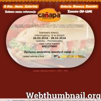 Canapa jest firmą oferującą obsługę cateringową na terenie całej Bydgoszczy. Dostarczamy posiłki w zakresie śniadania, podwieczorki  oraz przekąski o wysokiej jakości  w niskiej cenie. Oferujemy obsługę imprez kameralnych i kilkuset osobowych. Polecamy i zapraszamy do korzystania z usług firmy.