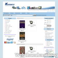 Komerc.com.pl - to platforma handlowa na której odbywają się aukcje internetowe. Można tu sprzedać, kupić lub też oddać za darmo przedmioty lub inne dobra bez opłat. O wiele szybciej można tu sprzedać niż w gąszczu tysięcy ofert na dużych aukcjach internetowych. Serwis korzysta z bezpiecznych płatności PayPal