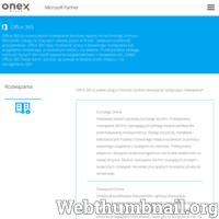 Office 365 to nowoczesny, bardzo rozbudowany program biurowy oparty na technologii chmury Microsoft. Dzięki świetnej jakości dysku w chmurze w znaczy sposób podwyższa on mobilność pracowników. Daje on możliwość pracy z każdego komputera luz innego urządzenia na ziemi. Całodobowe wsparcie zapewnia jedna z największych korporacji świata jaką jest Microsoft. Niezawodny, niezastąpiony, niezwykle bezpieczny i szanujący się program polecany jest każdej szanującej się firmie jak i użytkownikom domowym. ./_thumb/www.office-365.pl.png