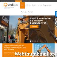 PROFPARTS to firma z kilkuletnim doświadczeniem na rynku Polskim. Głównym kierunkiem działalności firmy jest sprzedaż części zamiennych i materiałów eksploatacyjnych do maszyn budowlanych marki CASE, NEW HOLLAND. Ponadto zajmujemy się świadczeniem usług serwisowych oraz doradztwem technicznym.  PROFPARTS wie jak ważną rolę odgrywa zaufanie i zadowolenie Klientów dlatego też od samego początku swojej działalności stawia na profesjonalną obsługę w szerokim tego słowa znaczeniu. Wybierając Nas możesz liczyć na zespół profesjonalnych handlowców posiadających duże doświadczenie oraz wiedzę techniczną dotyczącą maszyn budowlanych. Staramy się, aby nasze oferty były precyzyjnie dostosowane do potrzeb Klienta. Świadczenie usług o najwyższej jakości to fundament działania firmy PROFPARTS. ./_thumb/www.profparts.pl.png