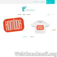 Wdziejto.pl wyróżnij się z tłumu, to internetowy sklep z koszulkami dzięki którym będziesz widoczny w tłumie ludzi przemierzających ulice. Nigdzie niespotykane wzory oraz jakość proponowanych przez nas produktów zadowolą niejednego wymagającego klienta. Zapoznaj się z pełną ofertą produktową na www.wdziejto.pl  ./_thumb/www.wdziejto.pl.png