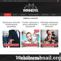 Firma Szkoleniowa Winners oferuje szkolenia biznesowe.Specjalizujemy się w szkoleniach z przywództwa,zarządzania,sprzedaży,umiejętności interpersonalnych ./_thumb/www.winners-szkolenia.pl.png
