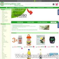 Zielony sklep to internetowy sklep ekologiczny ze zdrową żywnością. Eko sklep w Krakowie, ul. Dajwór 20 oferujący produkty  ajurwedyjskie, książki ,naturalne kosmetyki , suplementy diety. ./_thumb/zielonysklep.com.png