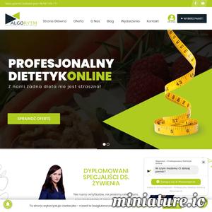 Najlepszy dietetyk online w Polsce! Profesjonalne diety w peł'ni mobilnej platformie internetowej. Masz dosyć swojej nudnej diety? Algorytm - Dietetyk Online spełni nawet najtrudniejsze oczekiwania. Uwierz, że dieta może być‡ prosta, smaczna i niedroga. Jeżeli zależy Ci na swoim zdrowiu korzystaj z usług tylko dyplomowanych dietetyków. Zadbaj o siebie razem z nami.  ./_thumb1/centrumalgorytm.pl.png