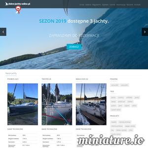 Wszystkich klientów zapraszamy do skorzystania z naszej oferty. Nasza strona dobre-jachty-solina.pl oferuje czarter jachtu Phobos 24,5 (rok produkcji 2016), Twister 26 Premium (rok produkcji 2018), Maxus Evo 24 (rok produkcji 2016) na Jeziorze Solińskim osobom posiadającym uprawnienia co najmniej Żeglarza Jachtowego oraz osobom niedoświadczonym, którym proponujemy czarter jachtów ze sternikiem.