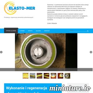 Firma Elasto-Mer oferuje regenerację powłok poliuretanowych na kołach jezdnych wózków paletowych oraz sztaplarek elektrycznych. Firma oferuje również dobór odpowiednich materiałów, które są zgodne z przeznaczeniem regenerowanego elementu.  Elasto-Mer zapewnia również wykonanie elementów od podstaw, które będą zgodne z życzeniem klienta. W ramach usług firma wykona skomplikowane kształty odlewów i wiele więcej.  Podstawowym celem Elasto-Mer jest rozpowszechnienie zastosowań elastomerów poliuretanowych w przemyśle drzewnym, a także górniczym i spożywczym.  Firma swoją ofertę kieruje zarówno do innych firm, przedsiębiorstw, a także klientów indywidualnych, zapewniając konkurencyjne ceny oraz najwyższa jakość świadczonych usług.  Polecamy serdecznie firmę Elasto-Mer, która oferuje regenerację wyrobów poliuretanowych i wiele więcej!