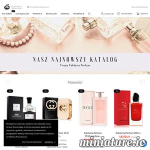 Jesteśmy legalnie działającą firmą z branży kosmetycznej. W naszym sklepie internetowym sprzedajemy perfumy lane odpowiedniki oraz zamienniki znanych marek. Mamy ponad 200 zapachów w ofercie w naszej galerii. W naszej fabryce produkujemy perfumy o róznym zapachu. Sprawdź naszą ofertę już dzisiaj.  ./_thumb1/faktoriaperfum.pl.png