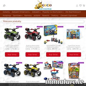 Zabawki, Gokarty, Jeździki, Rowerki, Pojazdy na Akumulator, Zabawki Drewniane, Zdalnie Sterowane, Ogrodowe, Modelarskie