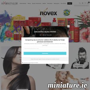 Hairstyler to polska hurtownia artykułów przeznaczonych dla fryzjerów. Firma posiada swoje własny sklepy stacjonarne oraz sklep internetowy, z którego może każdy skorzystać.