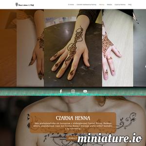 Henna Mehndi w Warszawie - malowanie, tatuaże, sztuka Mehendi od pasjonatki i artystki - wprost na Twoje ciało. Zapraszam do umówienia sesji malowania henną