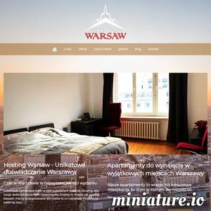 HostingWarsaw to innowacyjny projekt pragnący zaoferować wam możliwie najbardziej satysfakcjonujacy wynajem w Warszawie, wynajem mieszkań i apartamentów o nietuzinkowym stylu. oferujemy wynajem nieruchomości warszawa, wynajmy krótkoterminowe i długoterminowe. przyjmujemy gości na airbnb w warszawie, i otaczamy ich komfortem i gościnnością, pomagamy im znaleść w warszawie to czego szukają, bo znamyy to miasto jak własną kieszeń. HostingWarsaw to ciś więcej niż tylko stylowe komfortowe i nowoczesne mieszkania i apartamenty do wynajęcia w warszawie. to unikatowe doświadczenie Warszawy.we offer unique apartment rental experience in warsaw.