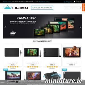 Sklep internetowy oraz stacjonarny z tabletami graficznymi i akcesoriami marki Huion. Kup urządzenia w najatrakcyjniejszych cenach na rynku!
