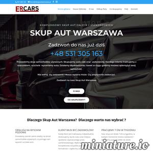 Firma ERCars prowadzi skup samochodów używanych na terenie Warszawy. Skupujemy zarówno auta sprawne jak i uszkodzone. Każdego klienta chcącego sprzedać nam swój samochód wyceniamy indywidualnie, tak aby każda z stron była zadowolona i nie czuła się oszukana. Nie bój się do nas zadzwonić, nasza wycena może zaskoczyć Cię pozytywnie, ponieważ podczas oględzin i wyceny auta bierzemy pod uwagę nie tylko stan techniczny, ale także stan wizualny samochodu. Jak profesjonalna firma jesteśmy w stanie zapewnić Ci szybki dojazd, transport, płatność gotówką oraz fachową pomoc przy wypełnianie dokumentacji. Działamy nie tylko na terenie województwa Mazowieckiego, ale także i łódzkiego. Pracujemy 7 dni w tygodniu, dlatego też możesz być pewien, że dopasujemy się do Twojego harmonogramu dnia. Skontaktuj się z nami już dziś!