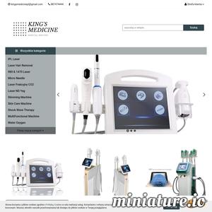 Urządzenia medyczne najwyższej jakości!  - lasery CO2 - lasery do usuwania włosów, - lasery 980, 1470, 1064, nd yag i inne - VelaShape - Hifu - Fala uderzeniowa  I inne!   Sprawdź naszą jakość!