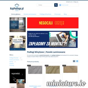 KupPodloge.pl Oferujemy panele laminowane i podłogi winylowe renomowanych firm. Darmowa Dostawa. Sprawdź jakie produkty oferujemy w naszym sklepie online