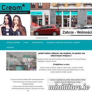 MkCream - odzież używana Zabrze - oferujemy hurtową sprzedaż używanych ubrań w Zabrzu w województwie śląskim. Zapraszamy do współpracy sklepy z odzieżą używaną!