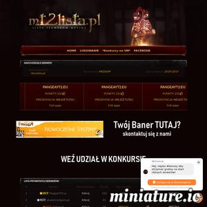 Lista prywatnych serwerów Metin2. Serwery Metin2 - zobacz jakie są najlepsze serwery Metin2 w internecie. Zareklamuj swój serwer u nas. Zbieraj punkty, bierz udział w konkursach
