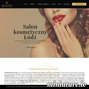Nanovo - Salon kosmetyczny w Łodzi specjalizuje się w zabiegach z zakresu kosmetologii estetycznej i makijażu permanentnego. Do zabiegów, które cieszą się szczególnie dużym zainteresowaniem naszych pacjentów należą: modelowanie ust kwasem hialuronowym, powiększanie ust, wolumetria twarzy, stymulatory tkankowe SUNEKOS, botoks - wypełnianie zmarszczek, depilacja laserowa, mezoterapia igłowa, zabieg osoczem bogatopłytkowym, a także makijaż permanentny ust i brwi. Dysponujemy nowoczesnym specjalistycznym  sprzętem przeznaczonym do zabiegów w obszarze twarzy i ciała. W przeprowadzanych zabiegach stosujemy certyfikowane bezpieczne preparaty. Stale poszerzamy swoją wiedzę z zakresu kosmetologii estetycznej. Umów się na konsultację !