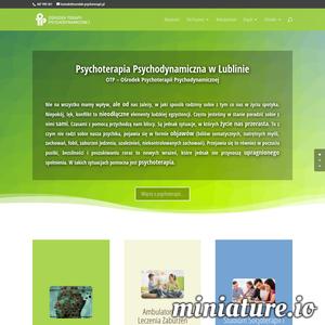 Zapraszamy serdecznie do skorzystania z usług Ośrodka Psychoterapii Psychodynamicznej w Lublinie. Prowadzimy praktykę psychoterapii z pełnym zakresem usług. Nasz zespół składa się kompetentnych psychoterapeutów o zróżnicowanym doświadczeniu i różnych zakresach specjalizacji. Zachęcamy do przejrzenia kwalifikacji zawodowych każdego z naszych pracowników w dziale zespół na stronie internetowej. Naszą misją jest dawanie profesjonalnej i skutecznej pomocy psychoterapeutycznej dla mieszkańców naszego miasta. Jeżeli możemy jakoś wesprzeć, skontaktuj się z naszym profesjonalnym personelem bezpośrednio przez telefon lub e-mail.