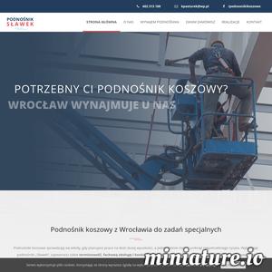 """Podnośniki koszowe """"Sławek"""" z Wrocławia – 20 lat doświadczenia w pracach na wysokości, niezbędne uprawnienia, bezpieczny sprzęt i gwarancja szybkości wykonania. Dysponujemy podnośnikami o wysokości roboczej 25 metrów i wysięgu bocznym 16 metrów. Działamy głównie na terenie Wrocławia, ale pracujemy również poza granicami miasta po wcześniejszym uzgodnieniu kosztów dojazdu. Bezpieczeństwo naszych klientów jest dla nas tak samo ważne, jak nasze własne. Dlatego pracujemy tylko na całkowicie sprawnym sprzęcie, który znajduje się pod stałym nadzorem Urzędu Dozoru Technicznego. Zatrudniamy wyłącznie doświadczonych i posiadających niezbędne uprawnienia operatorów."""