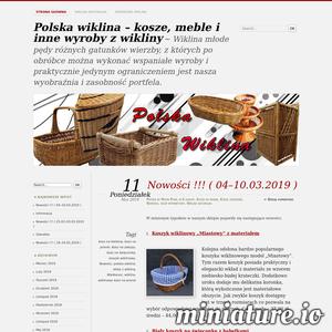Blog poświęcony wyrobom wiklinowym. Ciekawe informacje na temat aktualnych nowości dostępnych w sieci, wykorzystania wiklinowych koszyków, oraz różne porady.