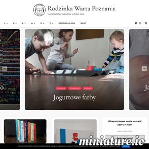 Rodzinka Warta Poznania - Macierzyństwo i ojcostwo w trybie slow. Pomysły na zajęcia z dziećmi, wycieczki po Poznaniu, książki dla dzieci, rodzicielstwo bliskości - wszystko na miejscu. Właściwym miejscu.  Poznaj dwójkę Poznaniaków z trójką dzieci, ich podejście do rodzicielstwa w trybie slow, sposoby na spędzanie czasu z dziećmi, kreatywne zabawy dla dzieci... Warta przeczytania literatura dziecięca też ma tu swój kącik. Sprawdź!  Rodzinka Warta Poznania - zajrzyj do nas i zostań z nami na dłużej!