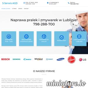 S-Serwis AGD z Lublina oferuje naprawę pralek, zmywarek w Lublinie i okolicach. Zadzwoń już dziś Tel 798-288-700! Naprawiamy większość pralek i zmywarek dostępnych na polskim rynku.