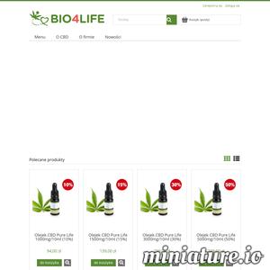 Olejki CBD najwyższej jakości. Szeroki wybór olejków konopnych o stężeniach od 5% do 50%!  Sklep konopny Bio4life gwarantuje atrakcyjne ceny oraz szybką dostawę. Sprawdź sam!