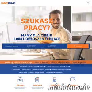 Skorzystaj z darmowej wyszukiwarki ofert pracy w Polsce oraz za granicą. Zacznij od rekrutacji pracowników na Szukampracy.pl - darmowy system rekrutacji pracowników online. ./_thumb1/szukampracy.pl.png