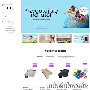 Targowisko24 to sklep internetowy, w którym łączymy pasję dla domu i ogrodu oraz miłość do dzieci i artykułów dla nich: zabawek, akcesoriów. Od przedmiotów na lato, które można zabrać na plażę czy do ogrodu, do zabawek edukacyjnych czy po prostu - zabawnych - dzięki którym Twoje dziecko może w kreatywny i twórczy sposób spędzić czas.