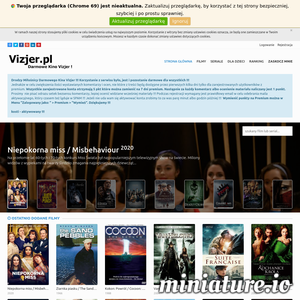 Vizjer.pl - Filmy i seriale online za darmo ! Darmowe filmy, filmy online, seriale online, darmowe seriale. Seriale za darmo, filmy za darmo. Darmowe Kino wszystkich kin.