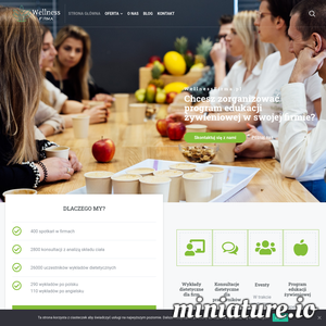 Wellnessfirma.pl to serwis wspierający edukację żywieniową w firmach. Zachęcamy do inwestowania w zdrowie pracowników i wspierania prawidłowych nawyków żywieniowych. Mamy zespół dietetyków klinicznych, który realizuje spotkania w całej Polsce. Organizujemy wykłady w siedzibie firmy, a także webinary dietetyczne online dla pracowników zdalnych. Chętnie zorganizujemy event ze zdrowymi przekąskami i wyciskaniem soków owocowych. Jak do tej pory zorganizowaliśmy ponad 400 wydarzeń tego typu w języku polskim i angielskim. Przekonujemy firmy, że edukacja żywieniowa się opłaca. Regularna współpraca z dietetykiem to mniej absencji chorobowych, lepsze samopoczucie pracowników, większa efektywność i motywacja do pracy. Chcesz rozpocząć współpracę z zespołem Wellness firma.pl? Przygotowujemy indywidualną ofertę uwzględniając liczbę pracowników i ich potrzeby.
