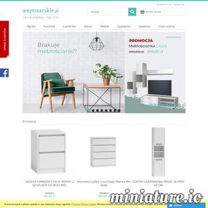 Wnętrzarskie.pl oferuje bogaty wybór produktów dla domu i ogrodu. Znajdziesz tu wszystko co niezbędne do kuchni, łazienki czy też sypialni. Zapraszamy!