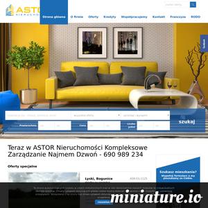 ASTOR Nieruchomości- oferty sprzedaży, kupna i wynajmu nieruchomości.