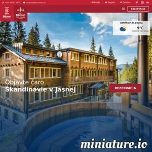 Zakwaterowanie w stylowym górskim hotelu w Tatrach Niskich, w samym srodku osrodka narciarskiego Jasna. Ciesz sie wyjatkowymi wakacjami przez caly rok.