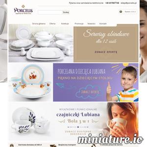 Niezmiernie miło jest nam gościć Państwa w sklepie Porcelis.pl. Nasza oferta zawiera szeroką gamę serwisów obiadowych i kawowych firmy Chodzież. Oferujemy kolekcje porcelany zarówno tradycyjne, nowoczesne jak i codziennego użytku. W porcelis.pl możecie Państwo kupić najwyższej jakości serwisy obiadowe, garnitury do kawy jak również zestawy obiadowo kawowe w atrakcyjnych cenach. ./_thumb1/www.porcelis.pl.png