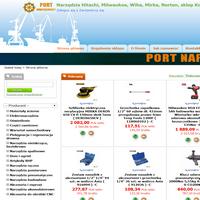 """Sklep internetowy """"Port-narzedziowy.pl"""" oferuje Państwu najwyższej jakości narzędzia, oraz elektronarzędzia takich firm jak: Hitachi, Wiha, Teng Tools, Milwaukee, Mirak, Irwin, Kingtony, AEG, Festool, Protool, Norton, 3M, Stanley, Makita, Bosch, FAR, Jonnesway, Bison i wiele innych. Zapraszamy do zakupów. ./_thumb1/www.port-narzedziowy.pl.png"""